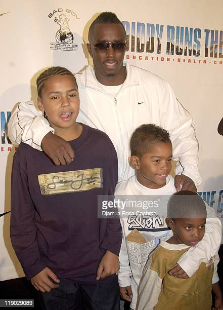 Quincy Combs Sean 'P Diddy' Combs Justin Combs and Christian Combs