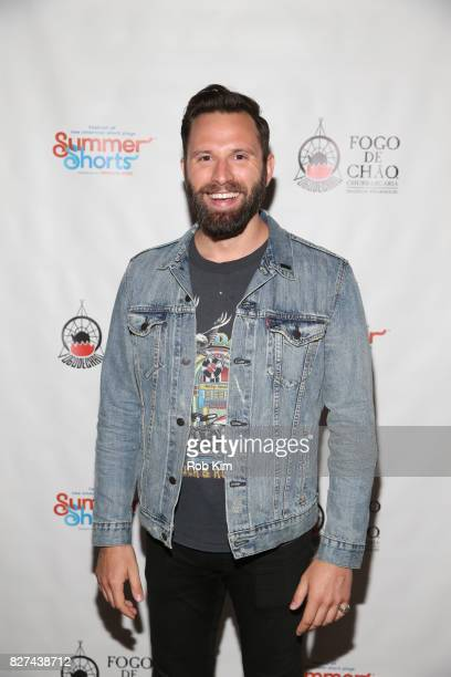 Quincy DunnBaker attends the OffBroadway opening night party for 'SUMMER SHORTS 2017' at Fogo de Chao Churrascaria on August 7 2017 in New York City