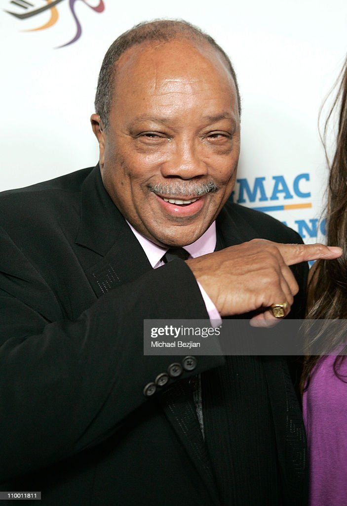 Quincy Jones arrives to The Thelonious Monk Institute of Jazz and The Recording Academy Los Angeles chapter honoring Herbie Hancock all star tribute concert at the Kodak Theatre on October 28, 2007 in Hollywood, California.