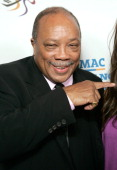 Quincy Jones arrives to The Thelonious Monk Institute of Jazz and The Recording Academy Los Angeles chapter honoring Herbie Hancock all star tribute...