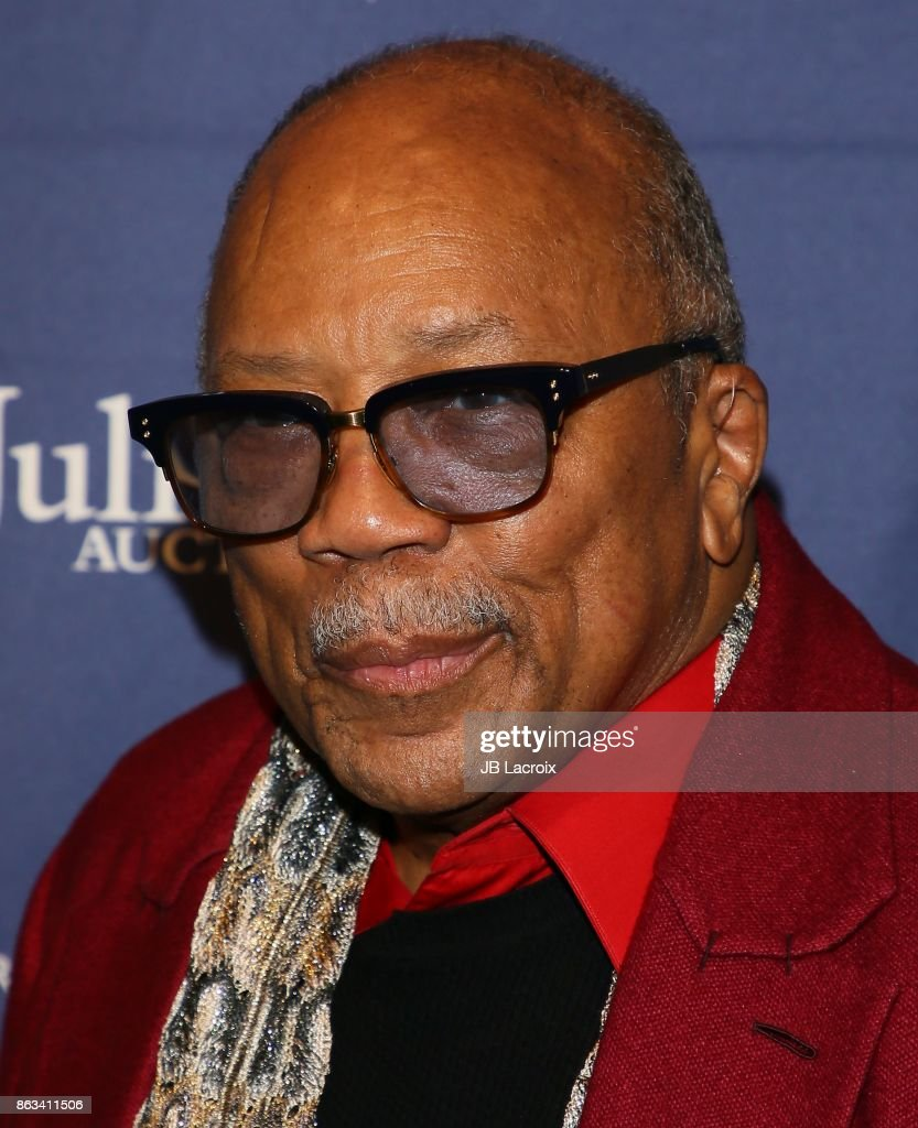 Quincy Jones attends Julien's Auctions and Tommy Hilfiger VIP reception on October 19, 2017 in Los Angeles, California.