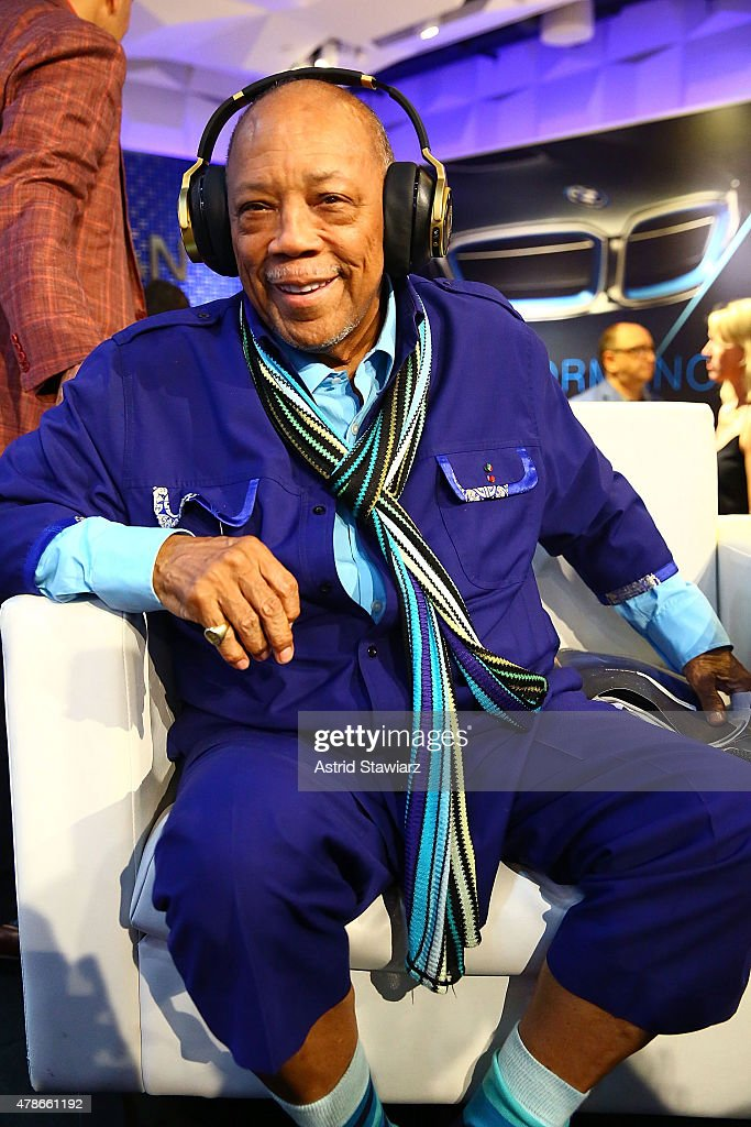 Quincy Jones And AKG Introduce First Headphones With Personalized Sound