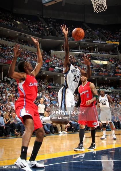 Quincy Pondexter of the Memphis Grizzlies loses control of the ball against the Los Angeles Clippers on April 9 2012 at FedExForum in Memphis...