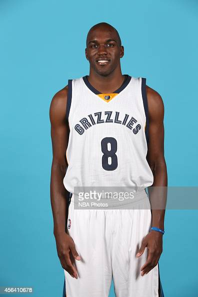 Quincy Pondexter of the Memphis Grizzlies poses for a portrait during Memphis Grizzlies Media Day on September 29 2014 at FedExForum in Memphis...