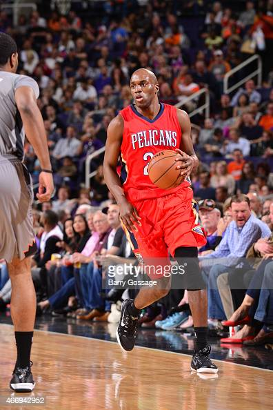 Quincy Pondexter of the New Orleans Pelicans drives to the basket against the Phoenix Suns during the game on March 19 2015 at Sleep Train Arena in...