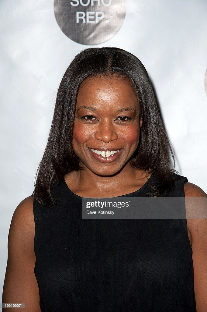 Quincy Tyler Bernstine attends Soho Rep's 2013 Spring Gala on April 8, 2013 in New York, United States.
