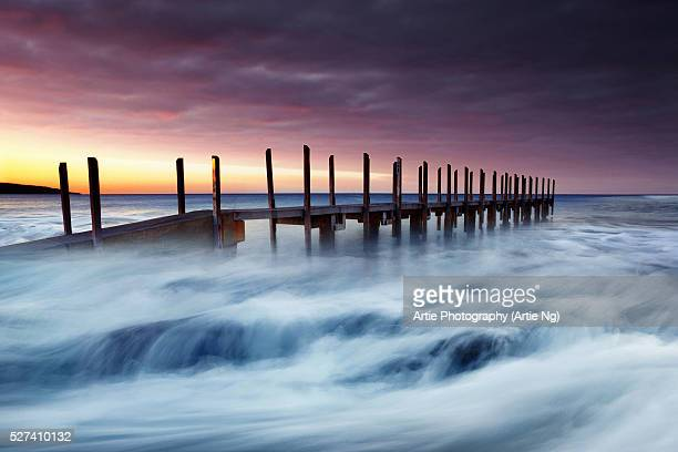 Quindalup Jetty, Dunsborough, Western Australia