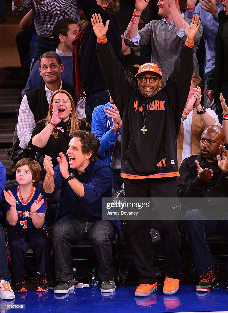 Celebrities Attend The New Orleans Pelicans Vs New York ...