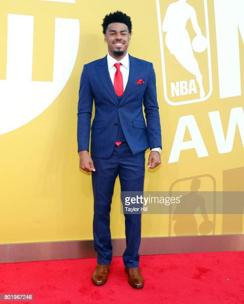 Quinn Cook attends the 2017 NBA Awards at Basketball City Pier 36 South Street on June 26 2017 in New York City
