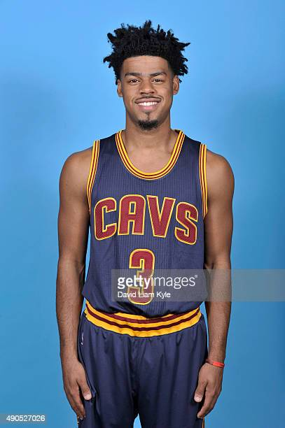 Quinn Cook of the Cleveland Cavaliers poses for a portrait during media day at The Cleveland Clinic Courts on September 28 2015 in Independence Ohio...