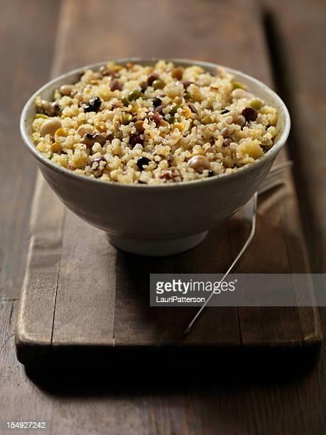 Quinoa und Bohnen-Salat
