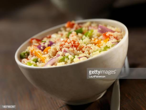 Quinoa und Gemüse-Salat