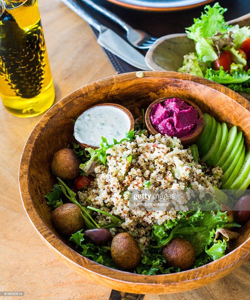 Quinoa bowl : Foto de stock
