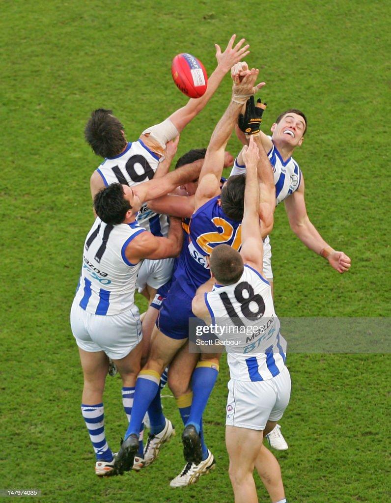 AFL Rd 15 - North Melbourne v West Coast