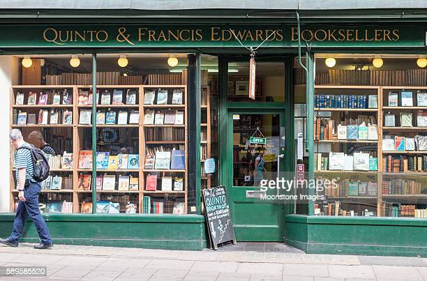 Quinto & Francis Edwards Booksellers in Charing Cross Road, London