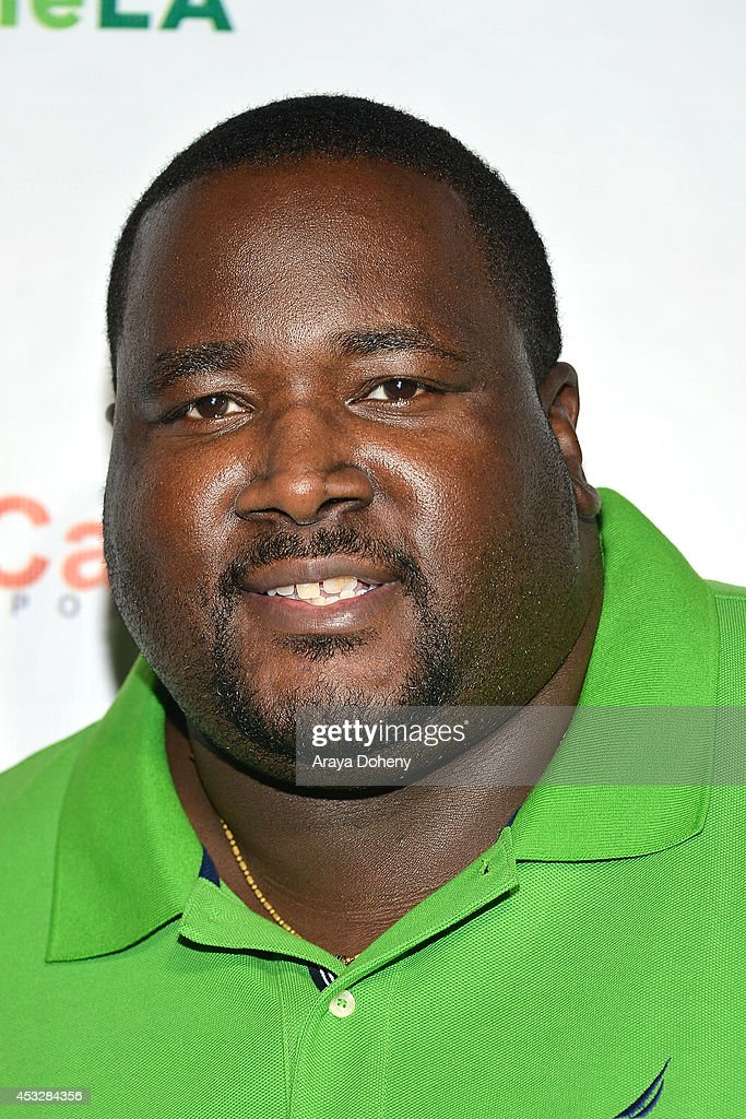 <a gi-track='captionPersonalityLinkClicked' href=/galleries/search?phrase=Quinton+Aaron&family=editorial&specificpeople=6527390 ng-click='$event.stopPropagation()'>Quinton Aaron</a> arrives at The Imagine Ball held at House of Blues Sunset Strip on August 6, 2014 in West Hollywood, California.