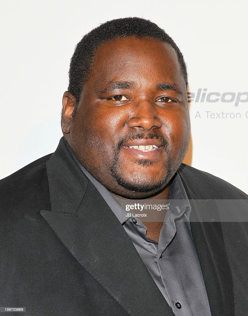 <a gi-track='captionPersonalityLinkClicked' href=/galleries/search?phrase=Quinton+Aaron&family=editorial&specificpeople=6527390 ng-click='$event.stopPropagation()'>Quinton Aaron</a> attends the Living Legends Of Aviation Awards at The Beverly Hilton Hotel on January 18, 2013 in Beverly Hills, California.