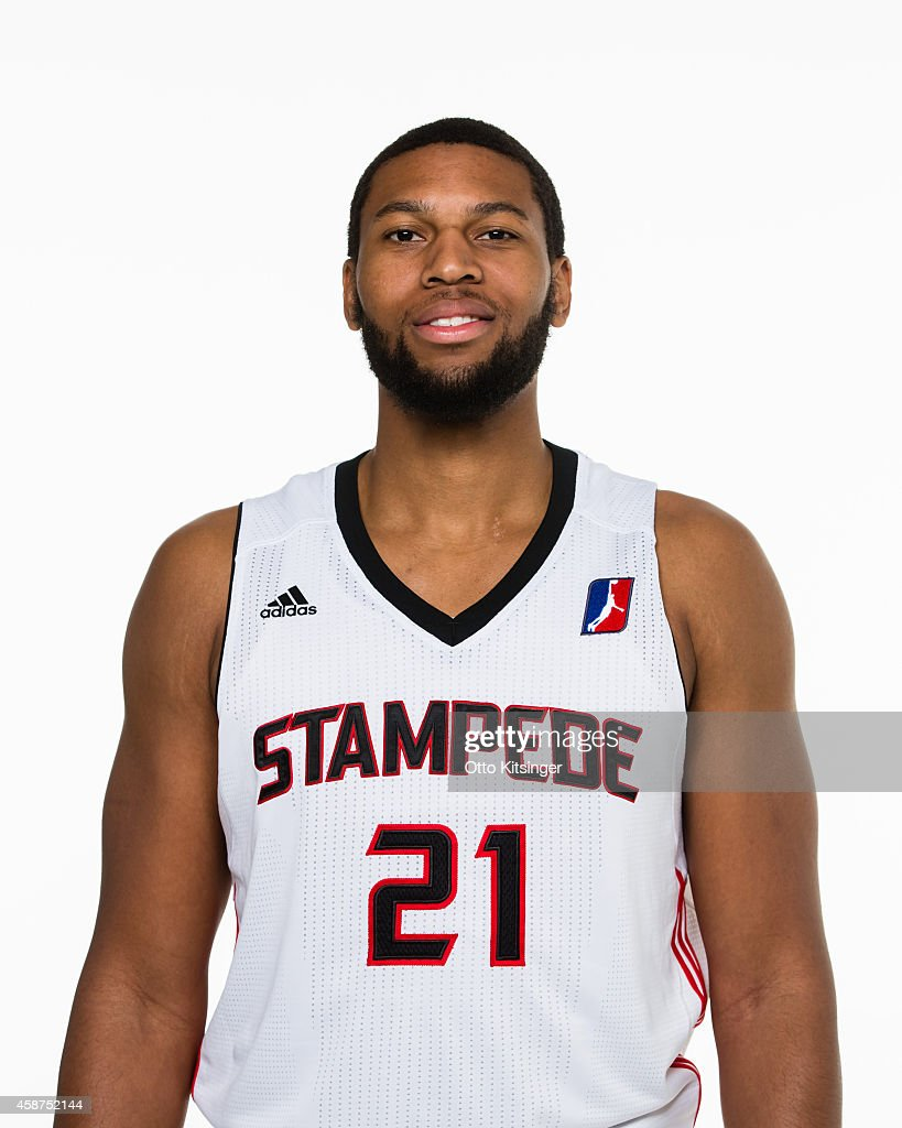Quinton Doggett of the Idaho Stampede poses for a portrait during Media Day on November 9 2014 at CenturyLink Arena in Boise Idaho NOTE TO USER User...