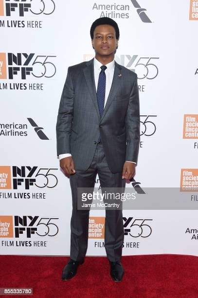 J Quinton Johnson attends the opening night premiere of 'Last Flag Flying' during the 55th New York Film Festival at Alice Tully Hall Lincoln Center...