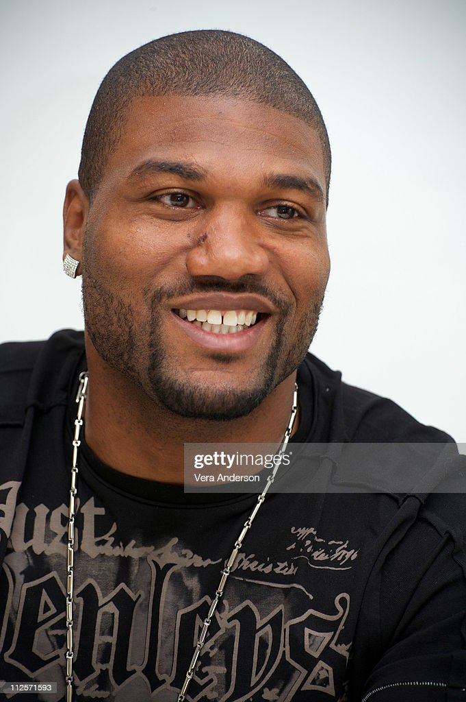Quinton 'Rampage' Jackson at 'The ATeam' Press Conference at the Four Seasons Hotel on June 4 2010 in Beverly Hills California