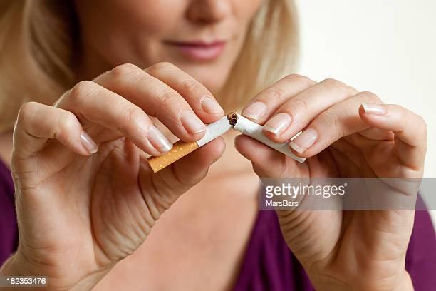 Deixar de fumar um cigarro, dividir