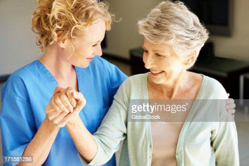 """Let's go get some fresh air!"" - Senior Rehabilitation"