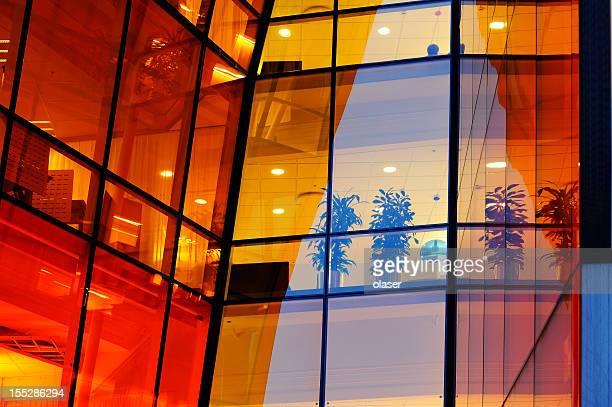 「オレンジ」オフィスから夜ます。