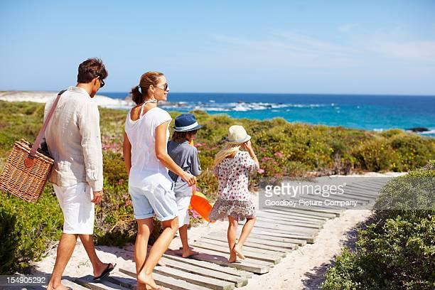 «ce chemin pour la plage»