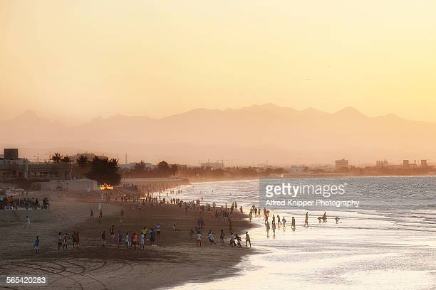 Qurm Beach Muscat Oman