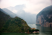 Qutang Gorge of The Three Gorges on the Yangtze Ri