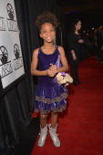 Quvenzhane Wallis attends the 38th Annual Los Angeles Film Critics Association Awards at InterContinental Hotel on January 12 2013 in Century City...