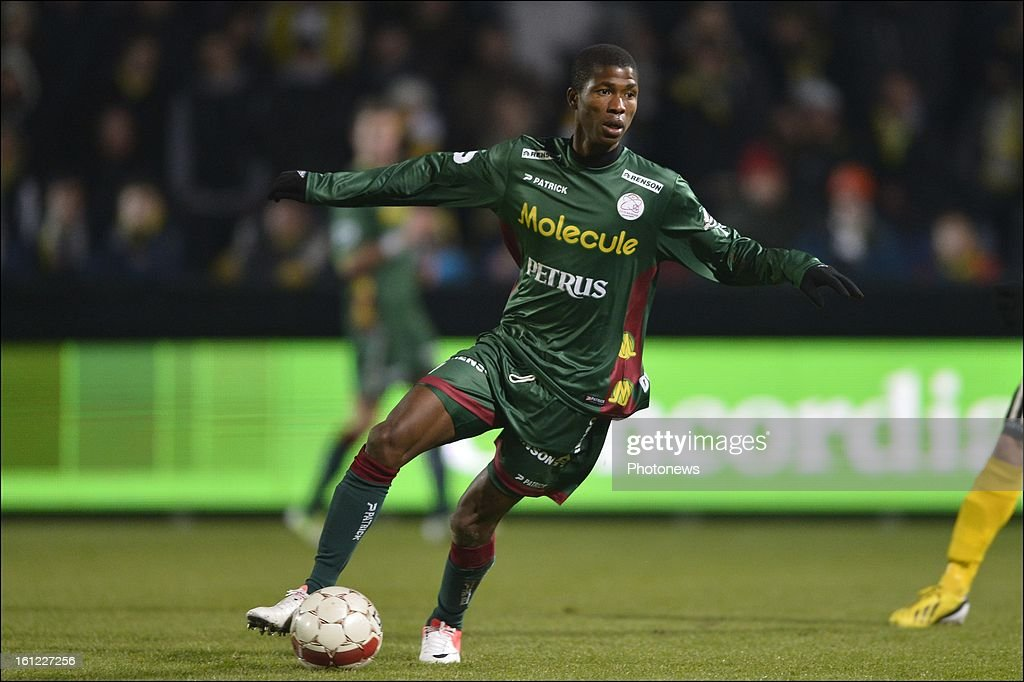 qz17q pictured during the Jupiler League match between Sporting Lokeren Oost-Vlaanderen and SV Zulte Waregem at the Daknam Stadium on February 9, 2013 in Lokeren, Belgium