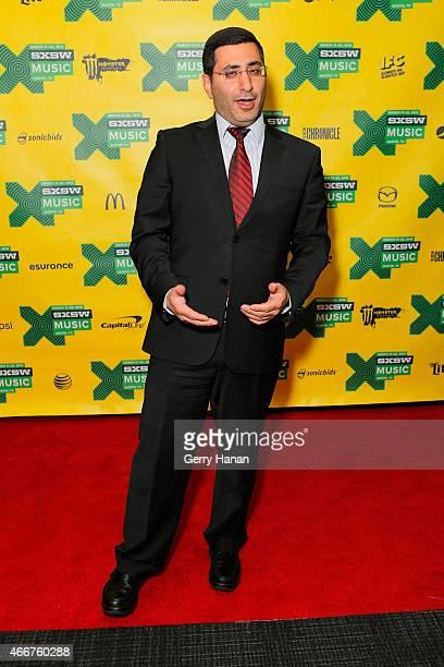 Rabbi David Menachem of Diwan Saz attends 'International Daystage' during the 2015 SXSW Music Film Interactive Festival at Austin Convention Center...