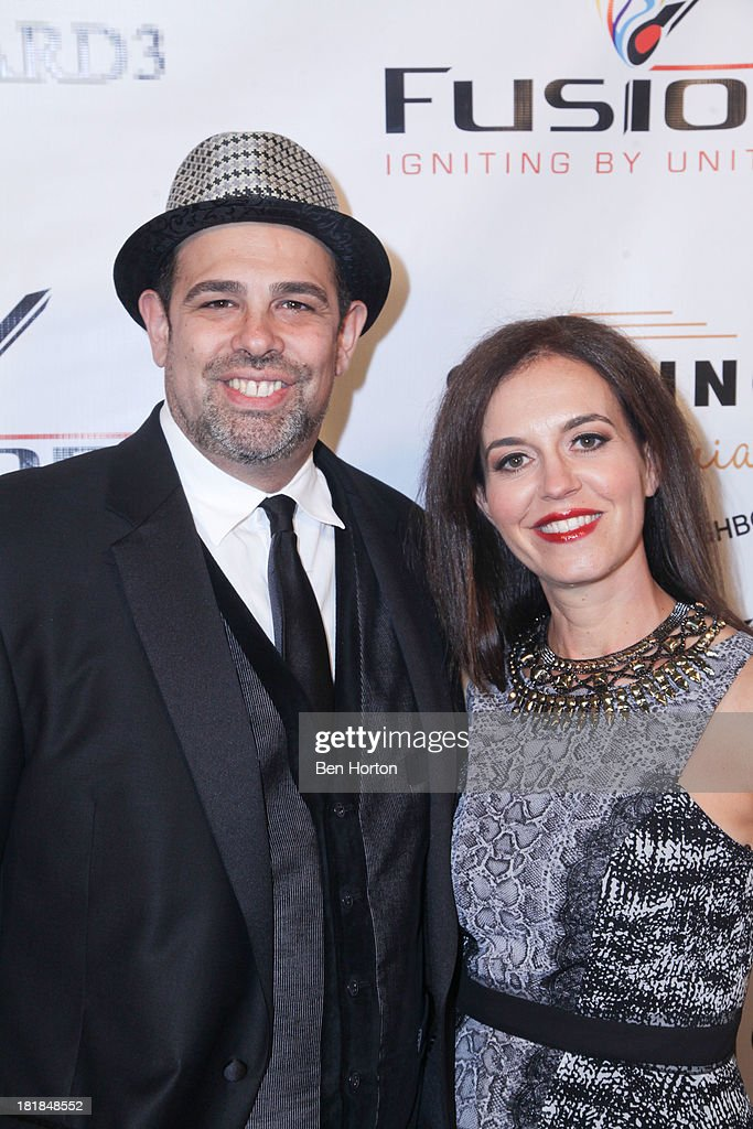 Rabbi Jason and Stephanie Sobel attend the Guggenheim partners present: The Justice Ball at Boulevard3 on September 24, 2013 in Hollywood, California.