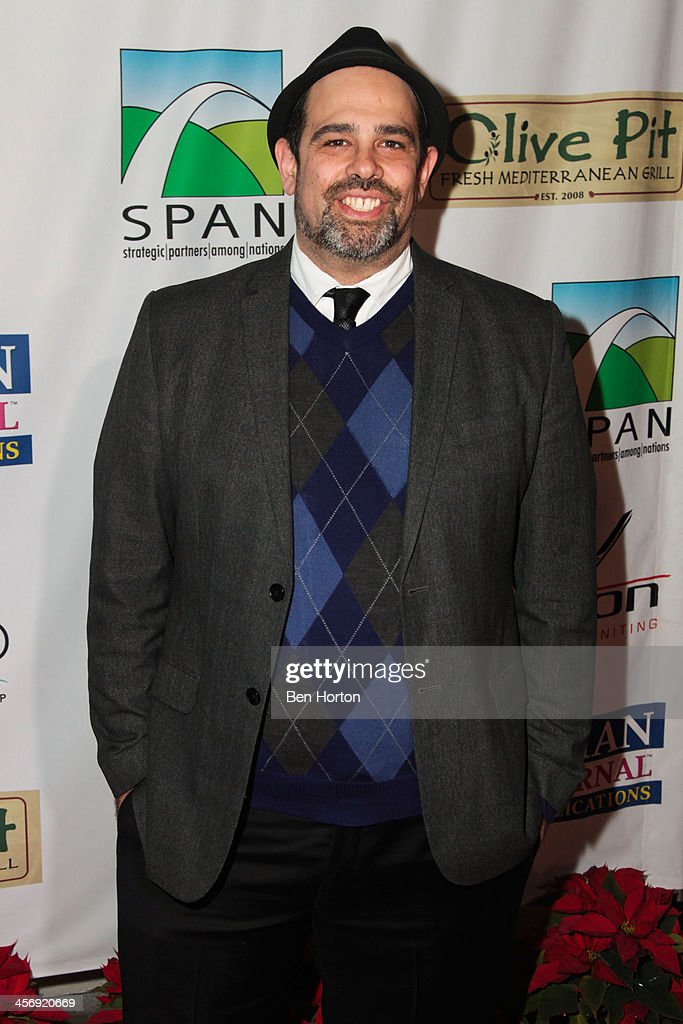 Rabbi Jason Sobel attends the Span Philippines Relief And Fusion Global Fundraiser at Malibu West Beach Club on December 15, 2013 in Malibu, California.