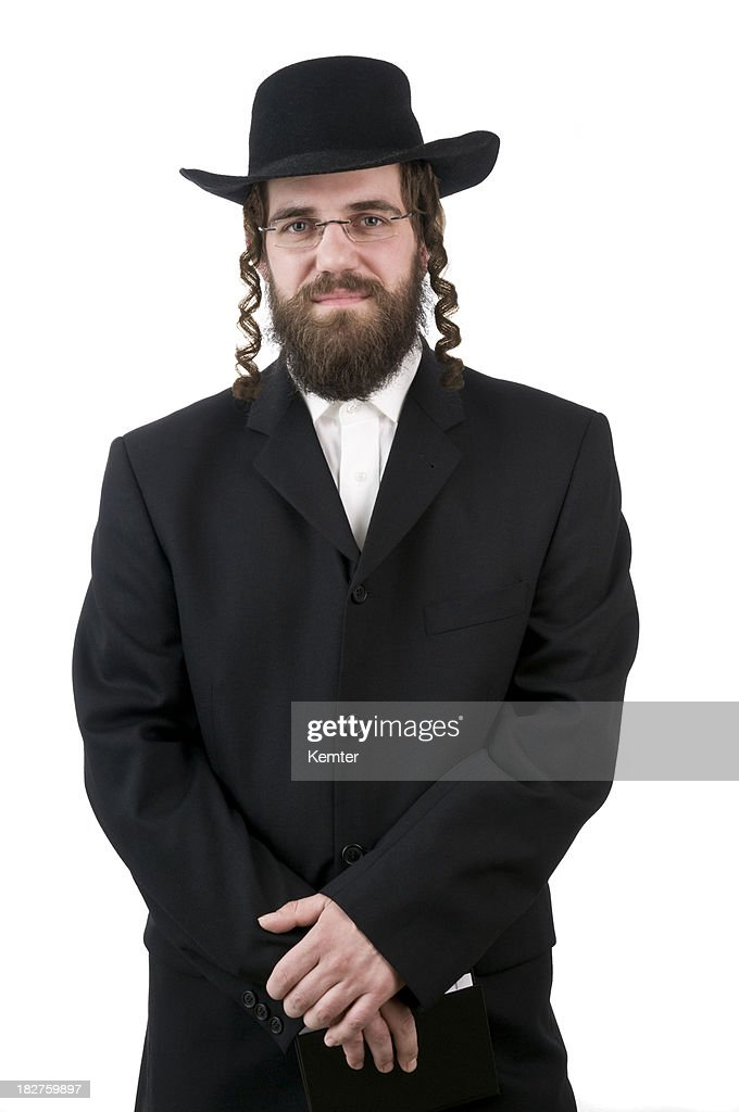 rabbi looking at camera