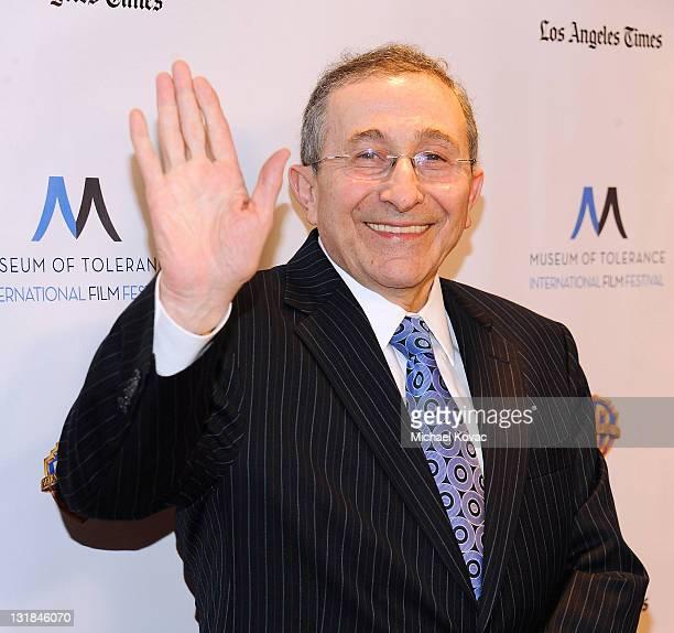 Rabbi Marvin Hier arrives at the Inaugural Museum Of Tolerance International Film Festival Gala honoring Clint Eastwood at Museum Of Tolerance on...