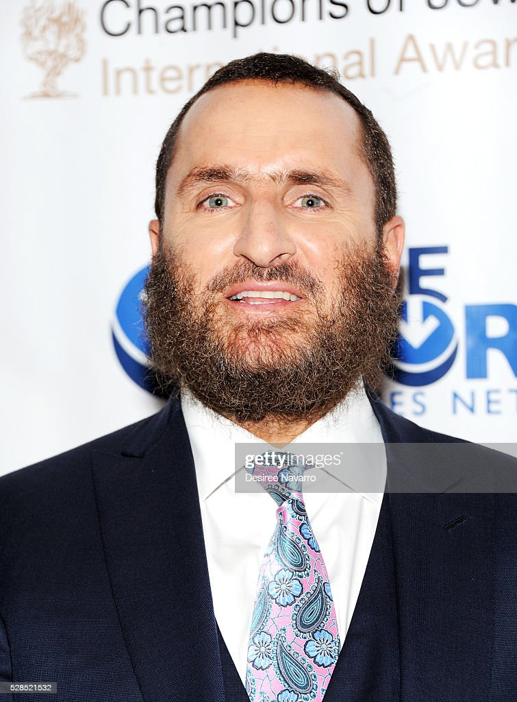 Rabbi Shmuley Boteach attends the 4th Annual Champions Of Jewish Values International Awards Gala at Marriott Marquis Broadway Ballroom on May 5, 2016 in New York City.