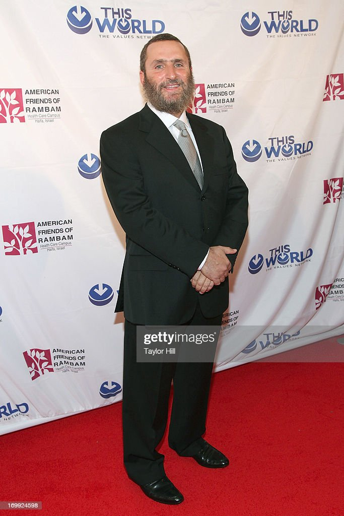 Rabbi Shmuley Boteach attends the Champion Of Jewish Values International Awards Gala at The New York Marriott Marquis on June 4, 2013 in New York City.