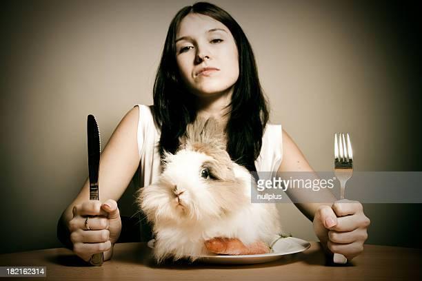rabbit のディナー