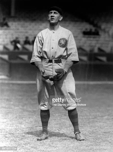 Rabbit Maranville shortstop and second baseman of the Boston Braves playing shortstop circa 1915