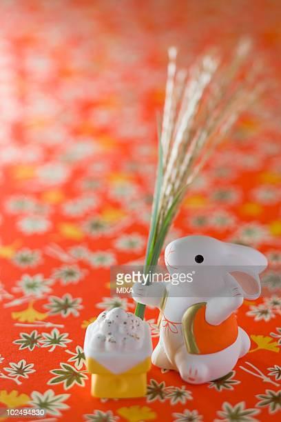 Rabbit Ornament for Tsukimi