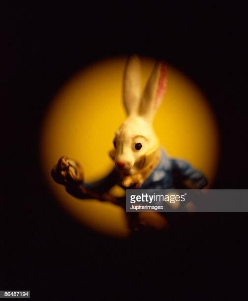Rabbit statue