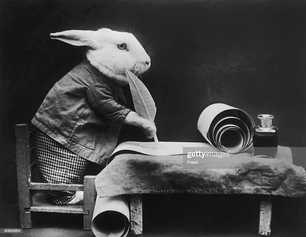 easter bunny at work pictures getty images