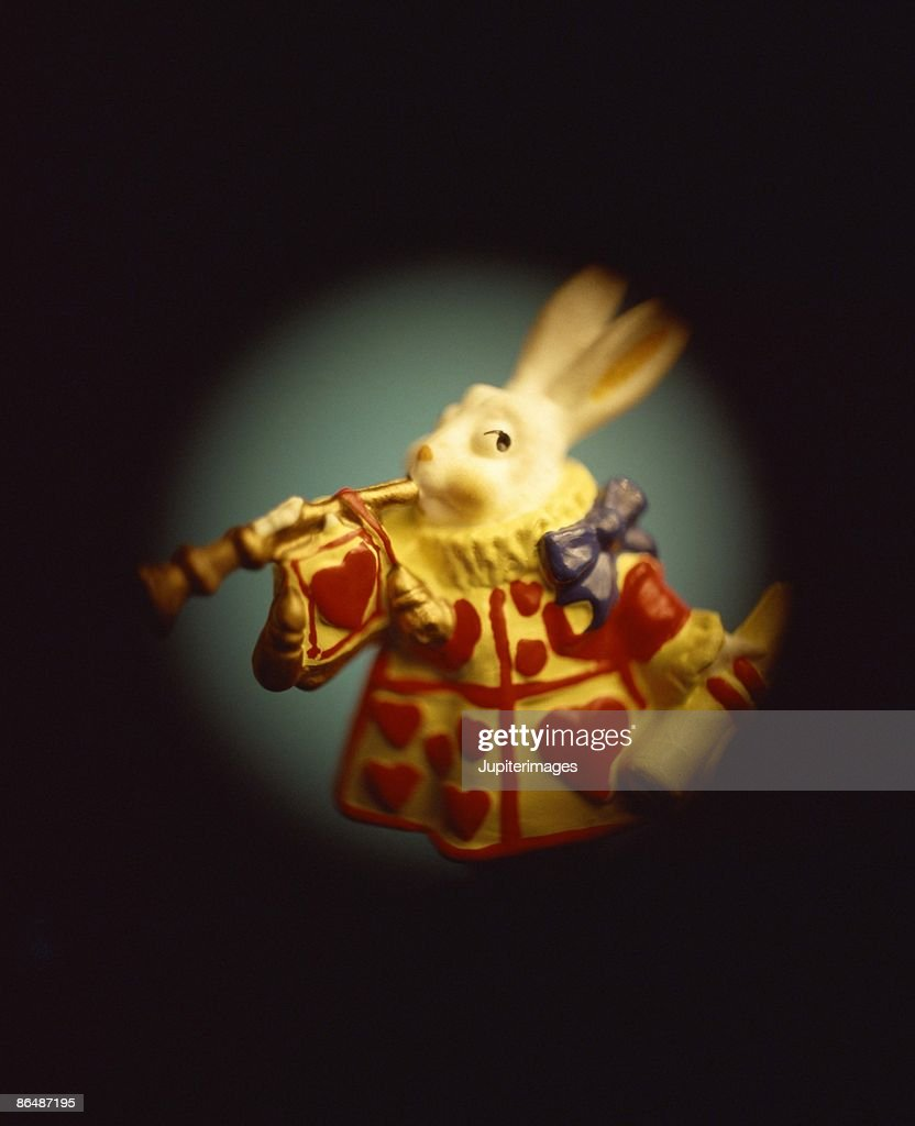 Rabbit with horn : Stock Photo