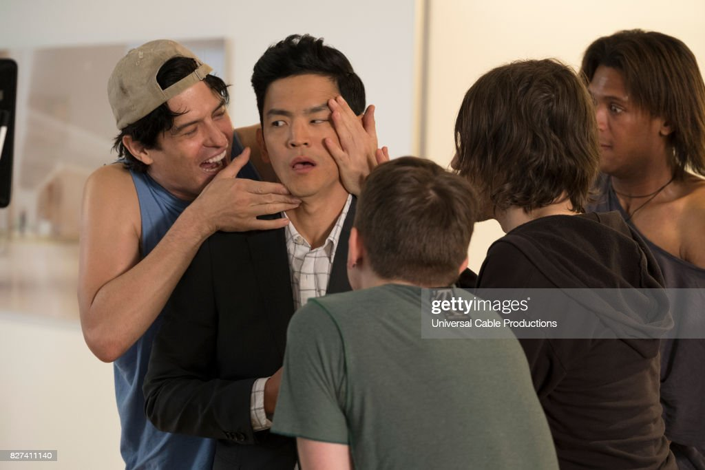 PEOPLE -- 'Rabbitversary' Episode 304 -- Pictured: John Cho as Todd --