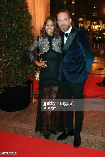 Rabea Schif and Ehemann attend the German Sports Media Ball at Alte Oper on November 05 2016 in Frankfurt am Main Germany