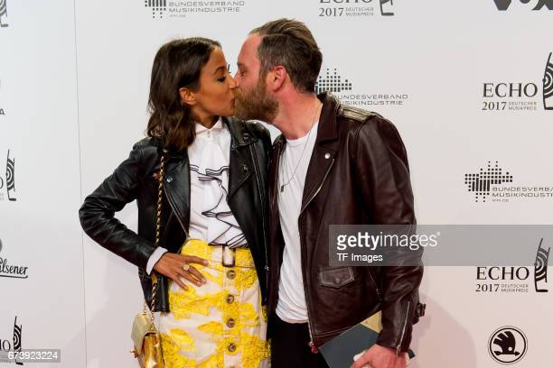 Rabea Schif and Ehemann David Gergely on the red carpet during the ECHO German Music Award in Berlin Germany on April 06 2017