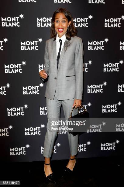 Rabea Schif attend the Montblanc spring party on May 3 2017 in Munich Germany