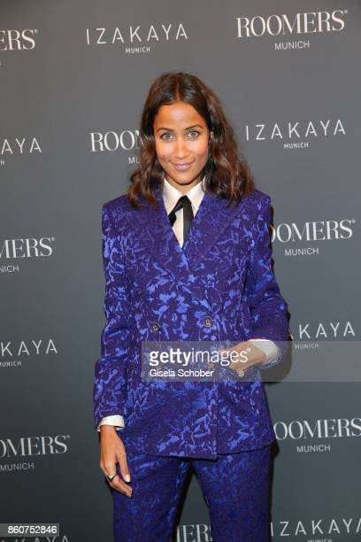Rabea Schif during the grand opening of Roomers IZAKAYA on October 12 2017 in Munich Germany